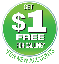 Get $1 in free international calling minutes with Boss Revolution Pinless