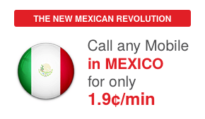 Cheap International Calling: Unlimited calls to Mexico cell or landline